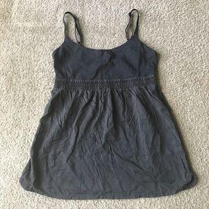 Lululemon bliss tank Sz 10 black babydoll style